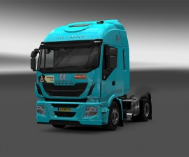 Skin De ROOY for Iveco Hi-Way   ETS 2 Mods