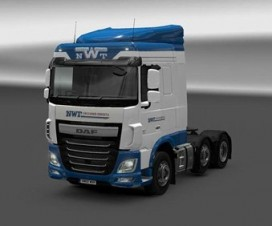 Skin Newell & Wright for DAF Euro 6 | ETS 2 Mods