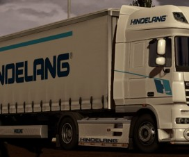 Skin Hindelang for DAF XF trailer | ETS 2 Mods