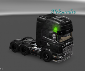 Skin for Scania Streamline Rhombus | ETS 2 Mods