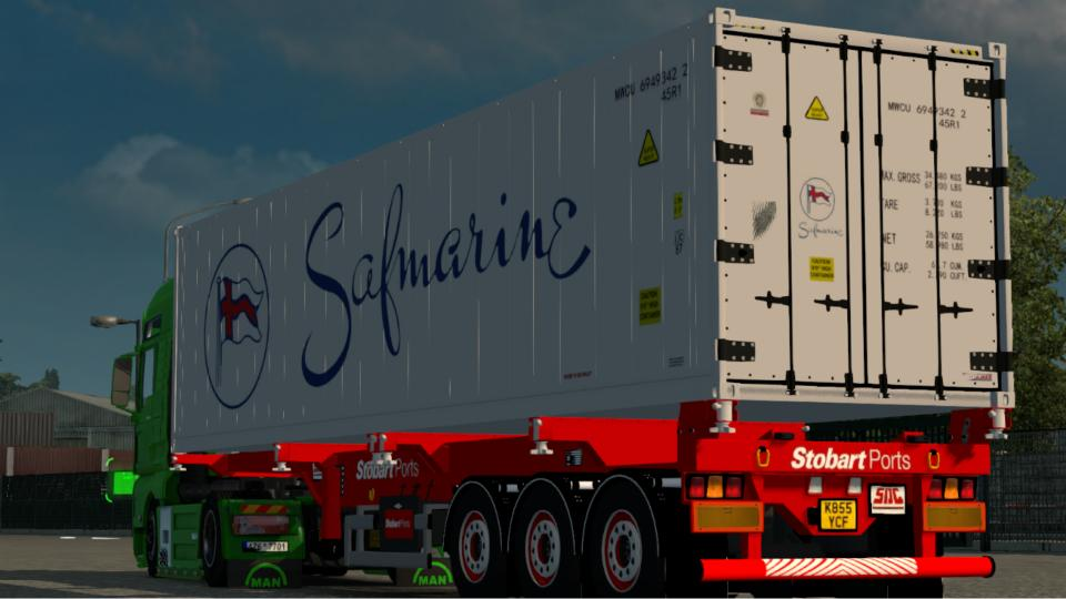 Stobart Container Trailer