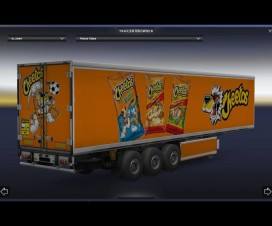 Cheetos Trailer 1.16 | ETS 2 Mods