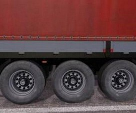 Dirty Wheels for Trailers | ETS 2 Mods