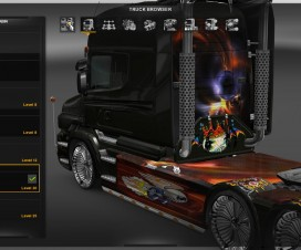 Scania T Flying Eye Skin v1 | ETS 2 Mods