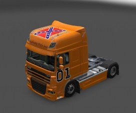 General lee daf Skin v1 | ETS 2 Mods