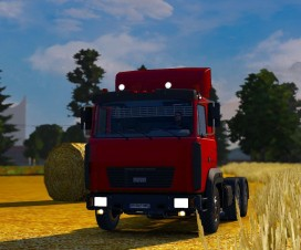 Maz 6422M UPDATED | ETS 2 Mods