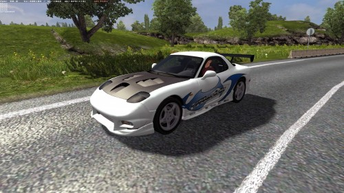 Mazda-RX-7-AI-Traffic-Car