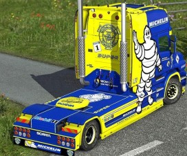 MICHELIN T-cab EXC skin | ETS 2 Mods