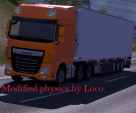 Modified physics v1 | ETS 2 Mods