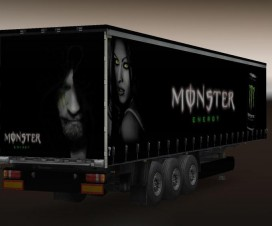 Monster Energy Trailer | ETS 2 Mods