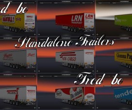 Norway Trailers Pack 1.16 | ETS 2 Mods