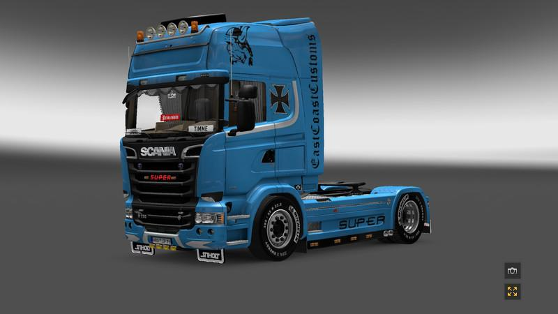 Scania Streamline Skin v1 | ETS2 Mods