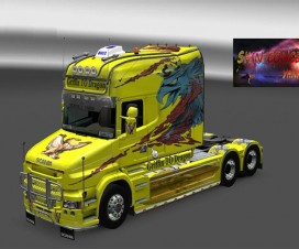 Scania T griffin to dragon skin | ETS 2 Mods