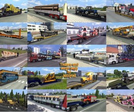 Trailers and Cargo Pack by Jazzycat v3.2 | ETS 2 Mods