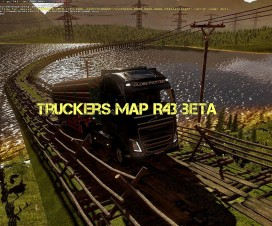 Truckers Map R43 beta | ETS 2 Mods