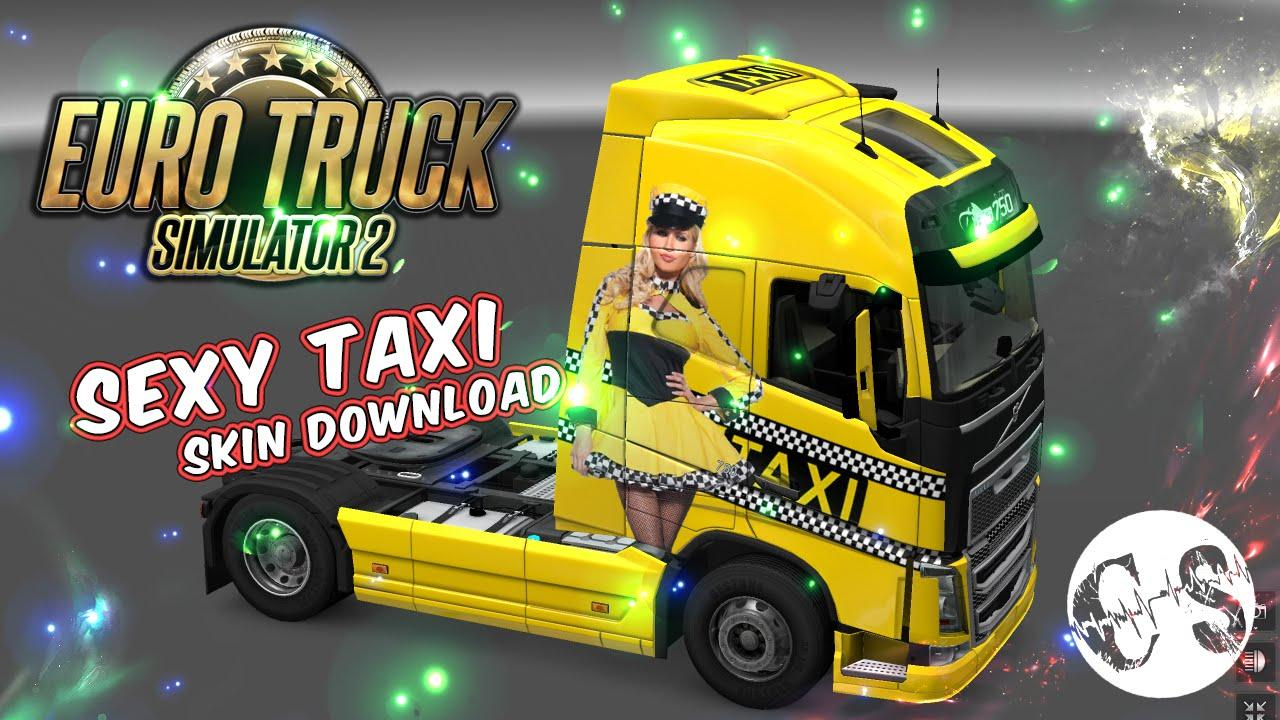 volvo fh 2012 sexy taxi skin trailer standalone 1