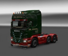 Wm Armstrong Skin | ETS 2 Mods