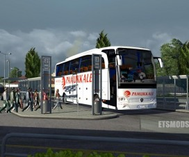 Bus passenger transport and terminal mod 1.16 | ETS 2 Mods