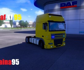 Daf Xf 95 By Taina95 | ETS 2 Mods
