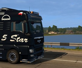 MAN 5 Star Skin | ETS 2 Mods