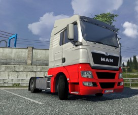 MAN TGX Reworked v1.2 | ETS 2 Mods