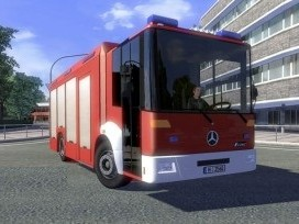 Mercedes Benz Econic AI Traffic Truck | ETS 2 Mods
