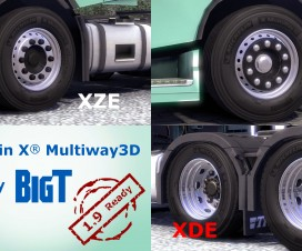 Michelin X Multiway3D Tires | ETS 2 Mods