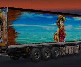 Monkey D Luffy Trailer | ETS 2 Mods
