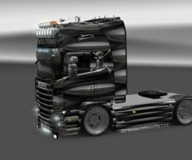 Skin for Scania R 2009 Metal Storm | ETS 2 Mods
