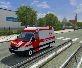 Mercedes Sprinter Rescue Traffic | ETS 2 Mods