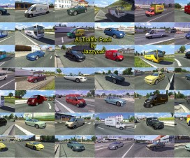 AI Traffic Pack By Jazzycat v2.3 | ETS 2 Mods