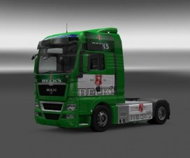 Becks MAN Skin v1 | ETS 2 Mods