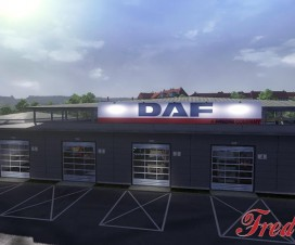 Big Garage DAF 1.16.x | ETS 2 Mods