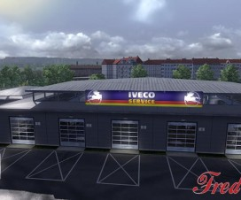 Big Garage IVECO 1.16.x | ETS 2 Mods