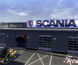Big Garage Scania 1.16.x | ETS 2 Mods