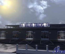 Big Garage Volvo 1.16.x | ETS 2 Mods