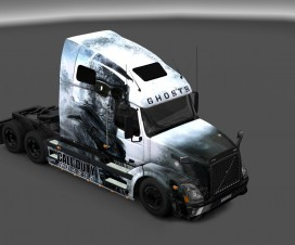 VNL Call of Duty Ghosts skin | ETS 2 Mods