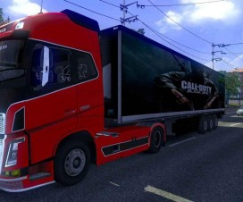 Call of Duty Trailer Skin | ETS 2 Mods