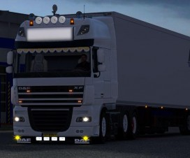 DAF XF 105 modified | ETS 2 Mods