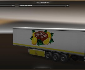 DC-Country Time Lemonade Trailer Skin | ETS 2 Mods