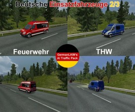 Rescue German traffic cars | ETS 2 Mods