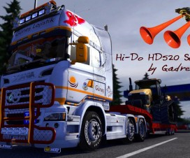 Hi-Do HD520 Serie Air Horn | ETS 2 Mods