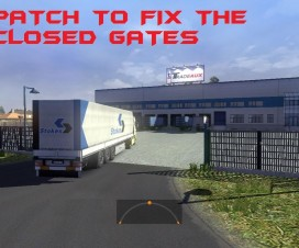 Map Eldorado v1.2 – Patch to fix the closed Gates | ETS 2 Mods