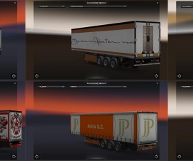 Marchi ITA Trailers Pack  1.6.1 | ETS 2 Mods