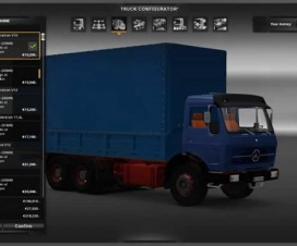 Mercedes Benz NG 1729 BETA | ETS 2 Mods