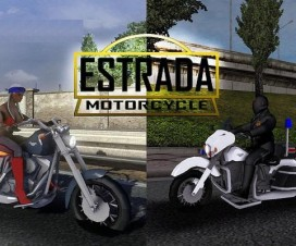Motorcycle Estrada Traffic | ETS 2 Mods
