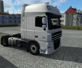 New mirrors for DAF XF 50k | ETS 2 Mods