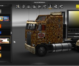 Kenworth Orville Redenbacher Set v1 | ETS 2 Mods