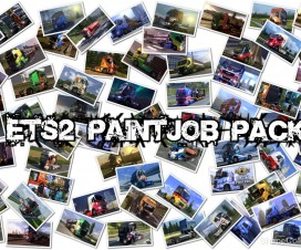 Paint JoB Pack full version | ETS 2 Mods