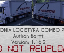 POLONIA LOGISTYKA combo pack   ETS 2 Mods